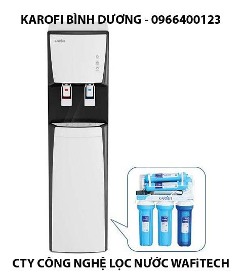 Máy lọc nước uống trực tiếp 2 vòi nóng lạnh Karofi