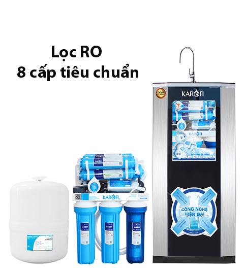 Máy lọc nước Karofi 8 cấp eRO80
