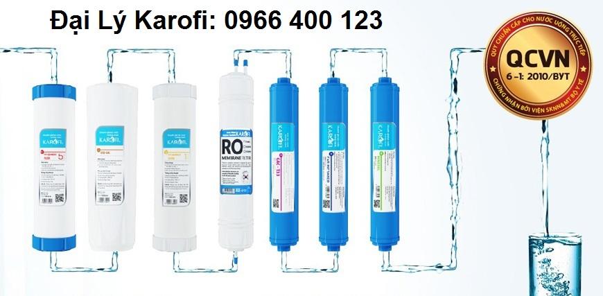 Bộ lọc nước 6 cấp lọc RO của máy lọc nước HCV200RO