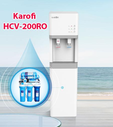 Máy lọc nước nóng lạnh Karofi HCV-200RO uy tín tại Bình Dương