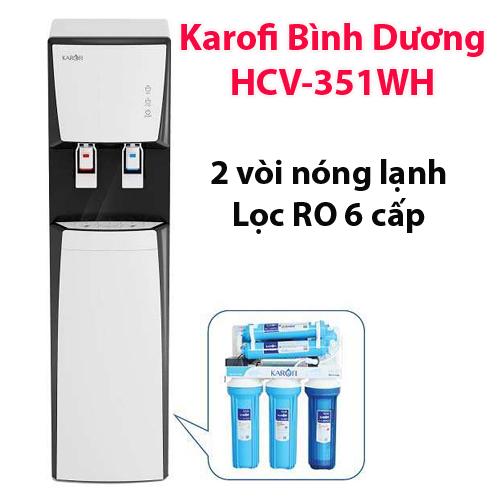 Máy lọc nước nóng lạnh Karofi HCV-351WH