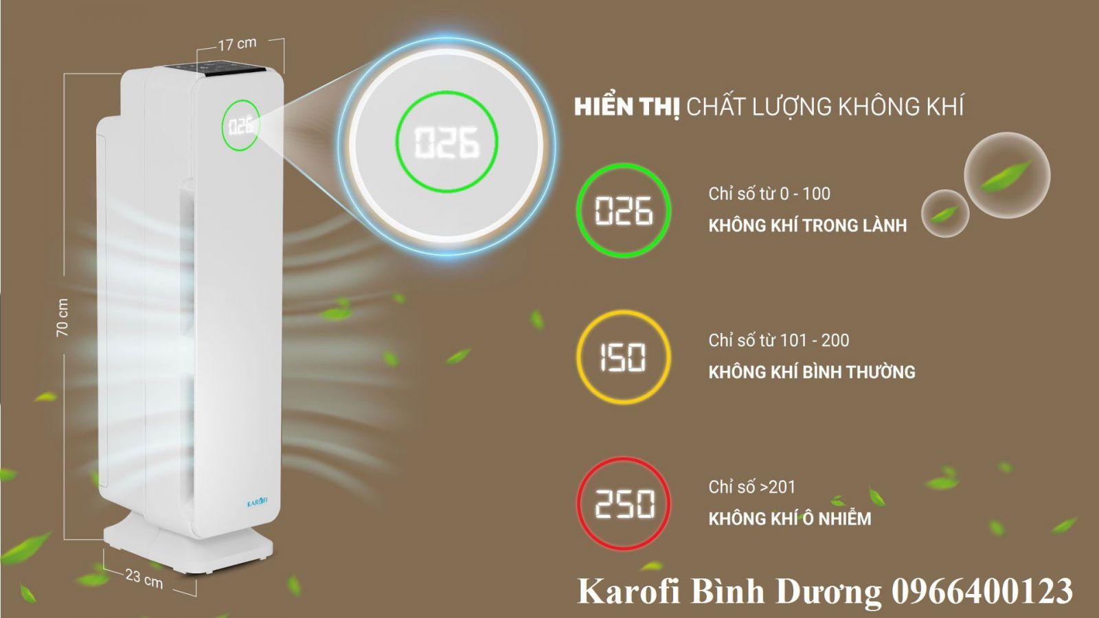 Tiện lợi của máy lọc không khí karofi