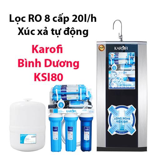 Máy lọc nước Karofi KSI80 tại Thủ Dầu Một