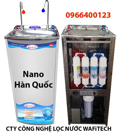 Máy lọc nước nóng lạnh Suntech lọc Nano Hàn Quốc