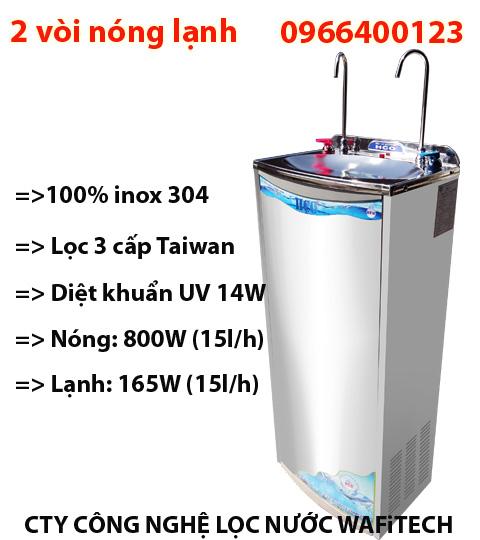 Máy lọc nước nóng lạnh 2 vòi HC-01