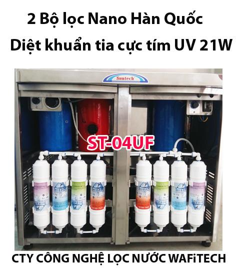 Thay lõi lọc nước máy Suntech
