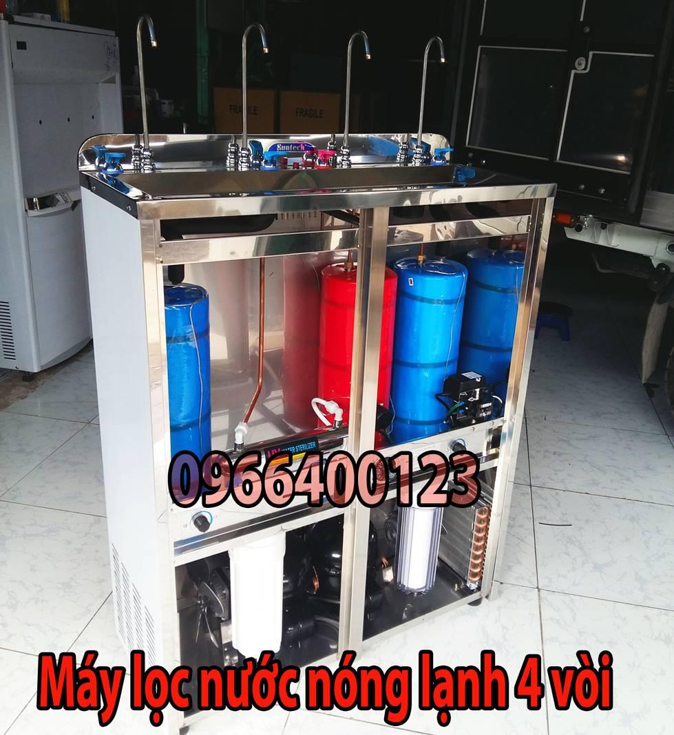 Máy lọc nước nóng lạnh 4 vòi TL-04HCO