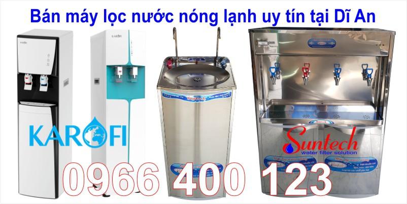 Nơi bán máy lọc nước nóng lạnh uy tín tại Dĩ An