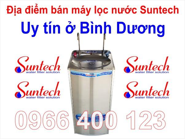 Địa điểm bán máy lọc nước Suntech ở Bình Dương