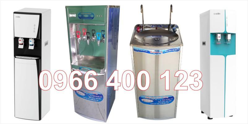 Các kiểu máy lọc nước nóng lạnh trực tiếp