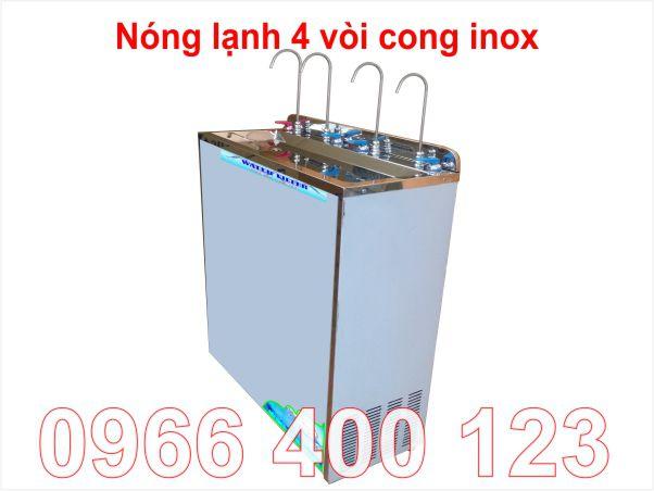 Máy lọc nước nóng lạnh 4 vòi công suất lớn