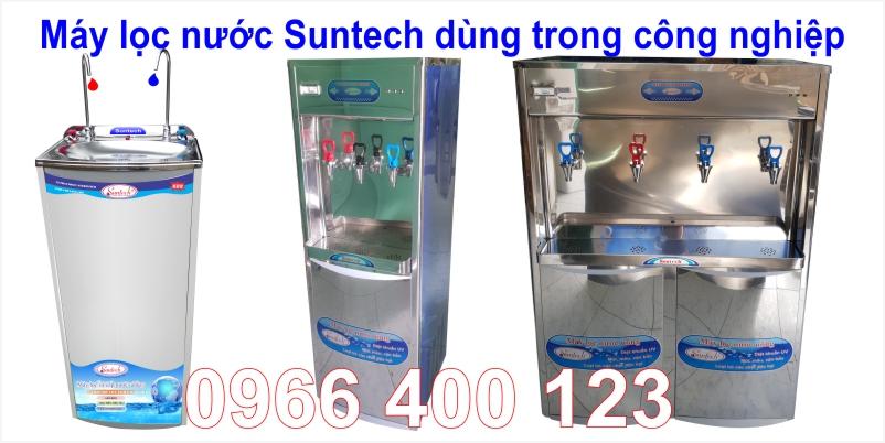 Máy lọc nước nóng lạnh công nghiệp Suntech
