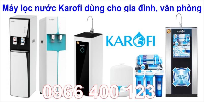 Máy lọc nước Karofi dùng cho gia đình