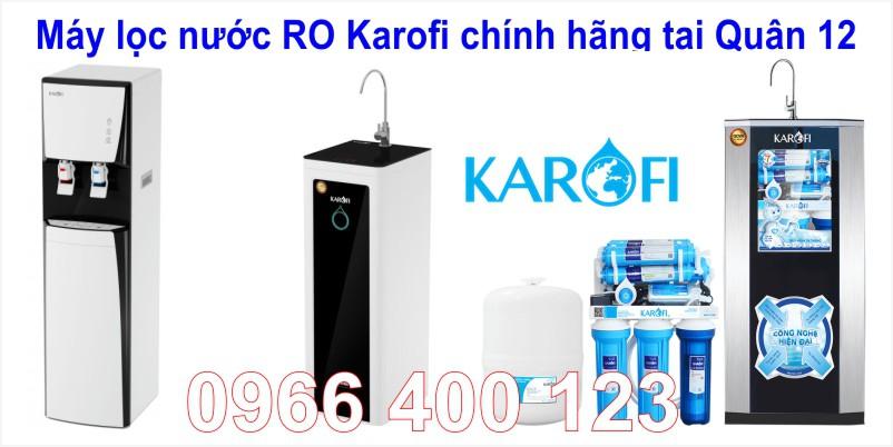 Máy lọc nước RO Karofi chính hãng giá tốt tại Quận 12