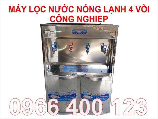 Máy lọc nước nóng lạnh 4 vòi có công suất lớn