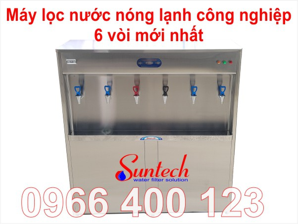 Máy nước uống nóng lạnh công nghiệp mới nhất
