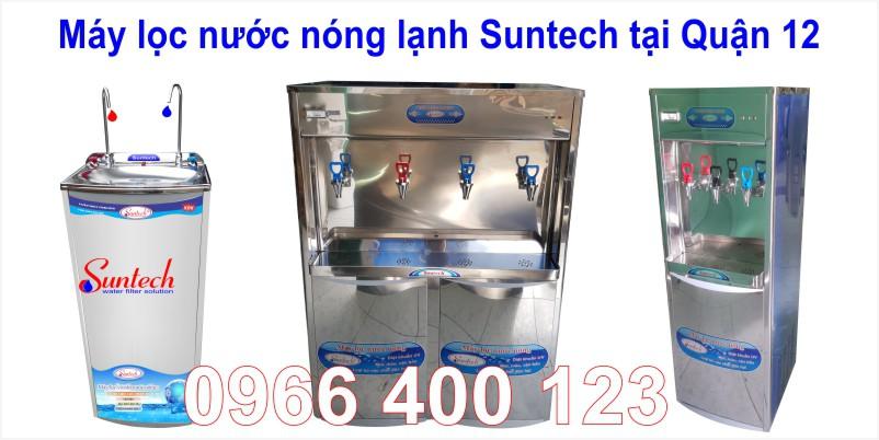 Máy lọc nước nóng lạnh suntech tại quận 12