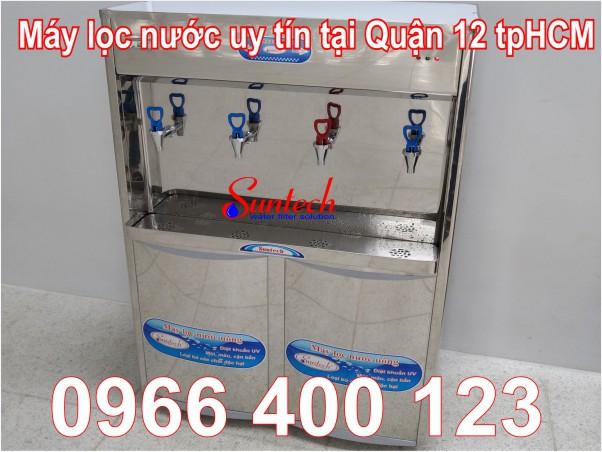 Máy lọc nước nóng lạnh tại Quận 12